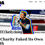 WE Charity Faked Its Own Death