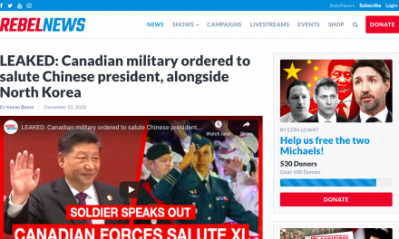 LEAKED: Canadian military ordered to salute Chinese president, alongside North Korea