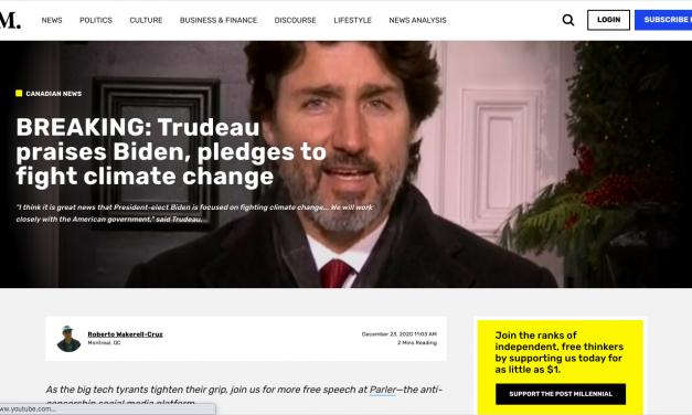 Trudeau praises Biden, pledges to fight climate change