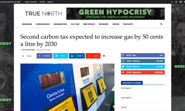 Second carbon tax expected to increase gas by 50 cents a litre by 2030