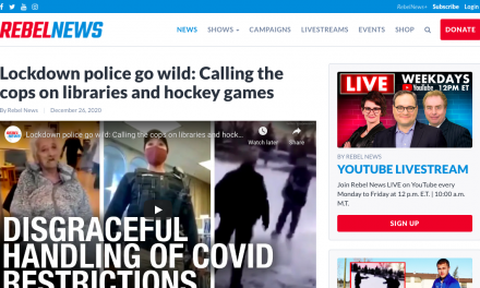 Lockdown police go wild: Calling the cops on libraries and hockey games