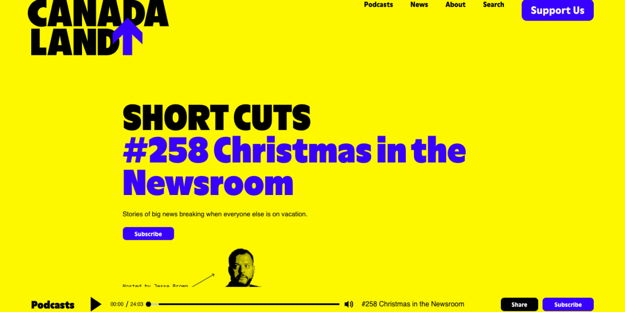 SHORT CUTS Christmas in the Newsroom