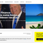 Ford asks finance minister to come home from Caribbean vacation