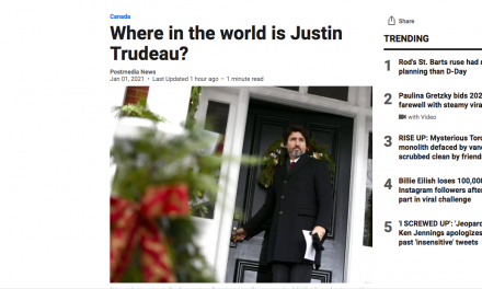 Where in the world is Justin Trudeau?