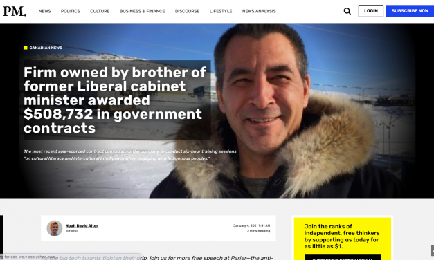 """Firm owned by """"VICTOR TOOTOO"""" brother of former Liberal cabinet minister """"Hunter Tootoo"""" awarded $508,732 in government contracts"""