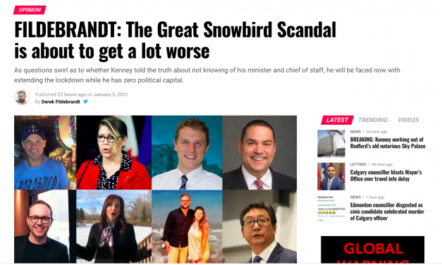 FILDEBRANDT: The Great Snowbird Scandal is about to get a lot worse