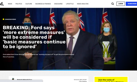 King Ford says 'more extreme measures' will be considered if 'basic measures continue to be ignored'