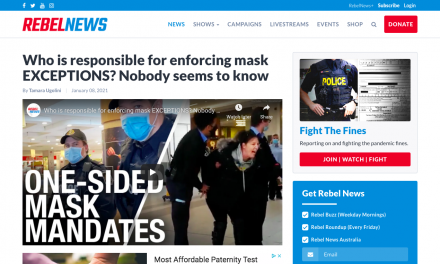WATCH: Who is responsible for enforcing mask EXCEPTIONS? Nobody seems to know