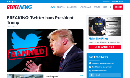 Twitter bans President Trump