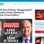 """EXCLUSIVE: Erin O'Toole """"disappointed"""" China's People's Daily allowed in Parliamentary Press Gallery"""