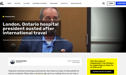 """London, Ontario hospital president """"Dr. Paul Woods"""" ousted after international travel"""