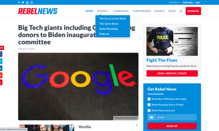 Big Tech giants including Google among donors to Biden inauguration committee