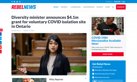 """Diversity minister """"Bardish Chagger"""" announces $4.1m grant for voluntary COVID isolation site in Ontario"""
