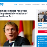 """Liberal Cabinet Minister """"Marc Miller"""" received donations in potential violation of Canada Elections Act"""