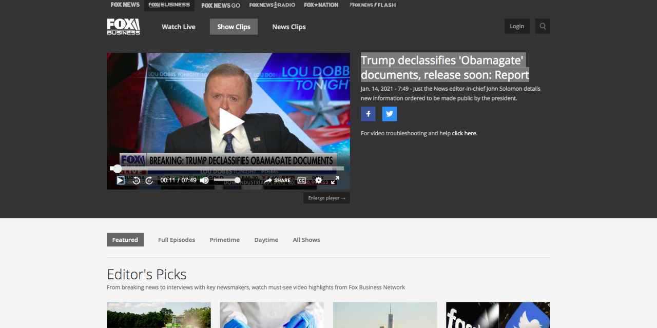WATCH: Trump declassifies 'Obamagate' documents, release soon: Report