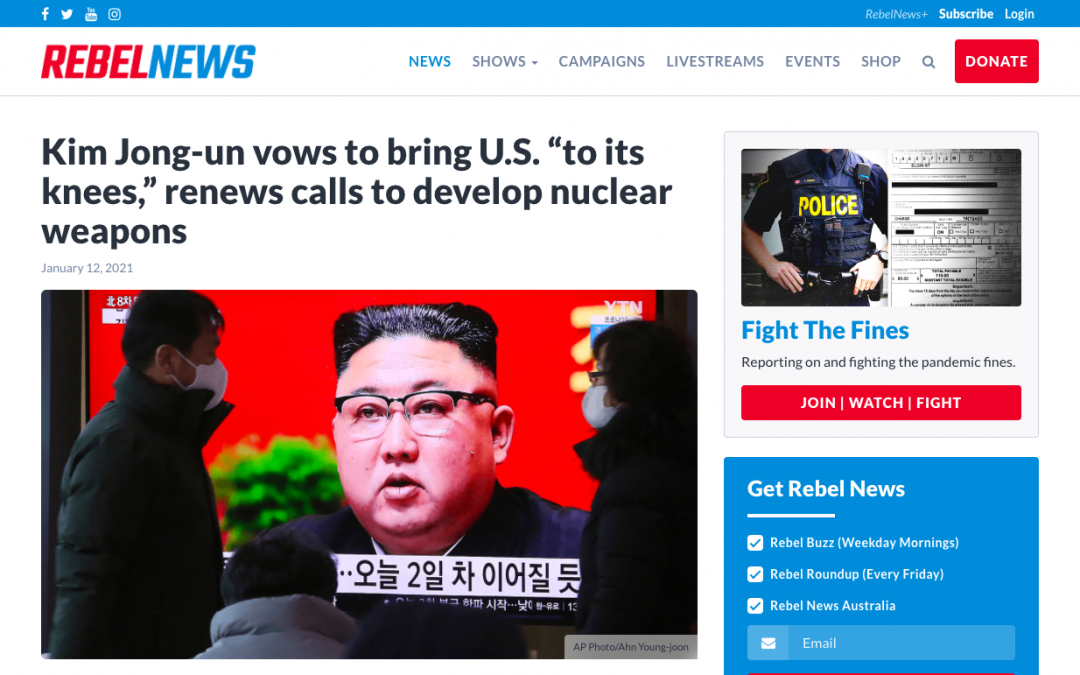 """Kim Jong-un vows to bring U.S. """"to its knees,"""" renews calls to develop nuclear weapons"""