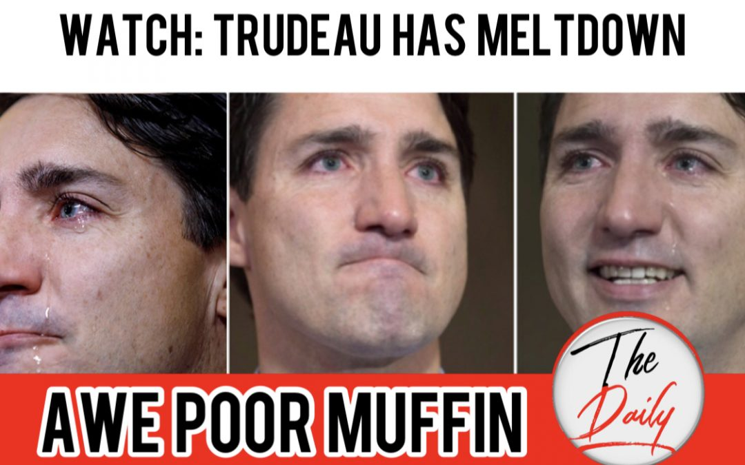 Justin Trudeau rocks out a massively pathetic crybaby meltdown at leaders debates on Rebel News reporter.