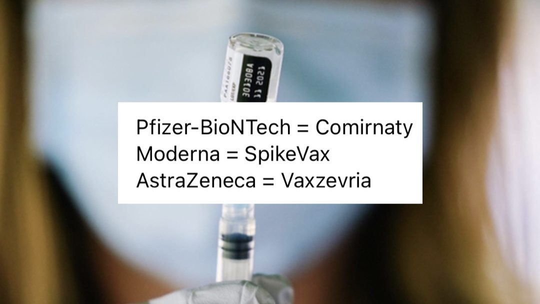 Pfizer, Moderna vaccines granted full approval by Health Canada; get unique name change