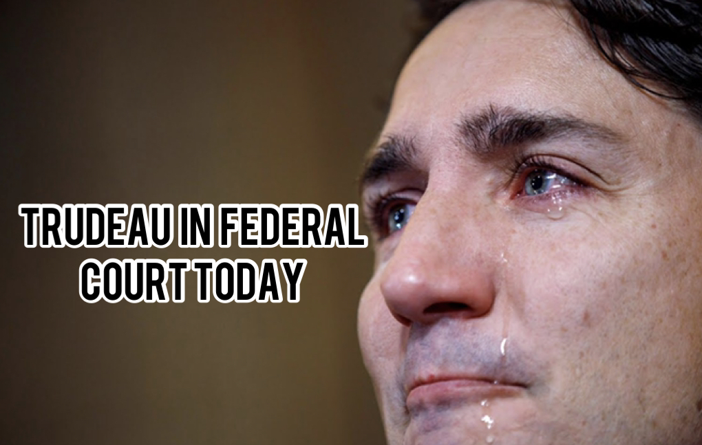 WATCH LIVE: Rebel News is Suing Trudeau in Federal Court today