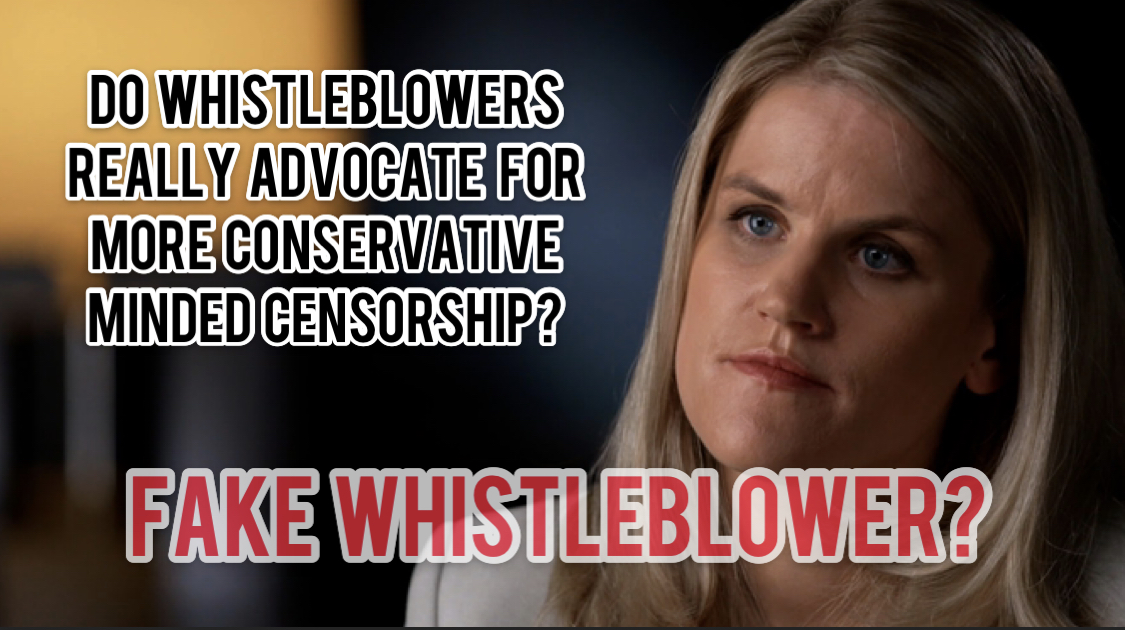 Frances Haugen a Fake Facebook Whistleblower? You can decide.